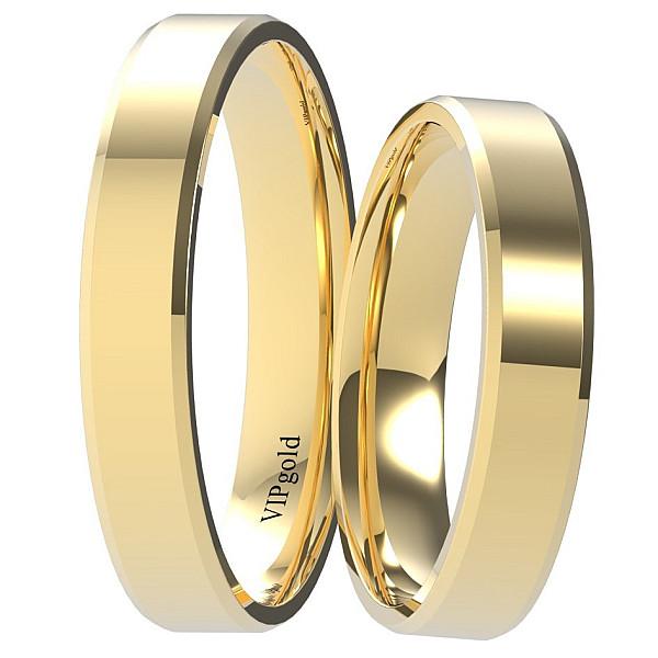 Svadobné obrúčky 9001/4 - žlté zlato