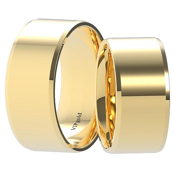 Svadobné obrúčky 9001/9 - žlté zlato