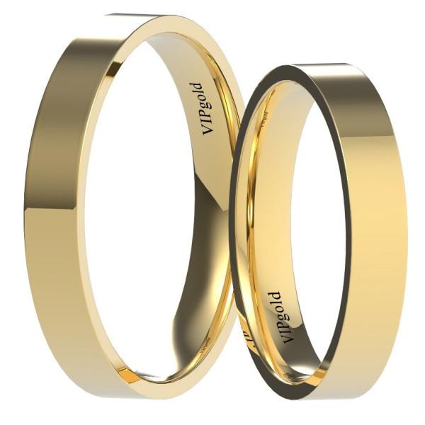 Svadobné obrúčky 9003/3 - žlté zlato
