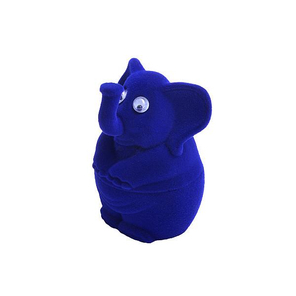 Krabička na šperky - Modrý Sloník