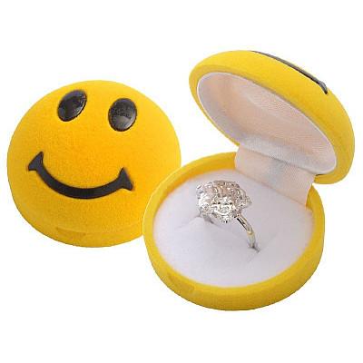 Krabička na šperky - Smajlík
