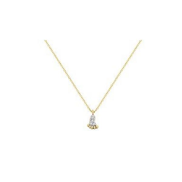 Zlatý náhrdelník 1538z
