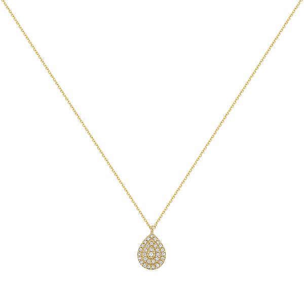 Zlatý náhrdelník 1637z