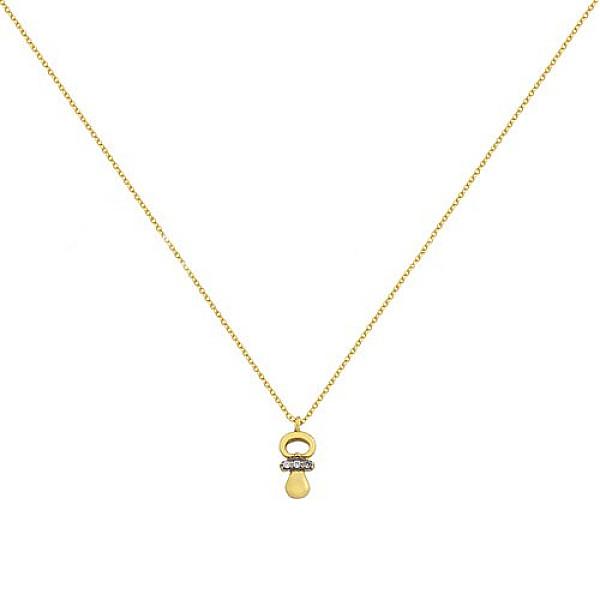 Zlatý náhrdelník 1662z