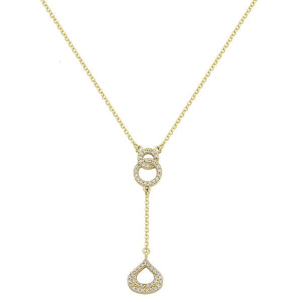 Zlatý náhrdelník 1703z