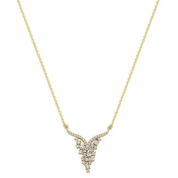 Zlatý náhrdelník 1735z