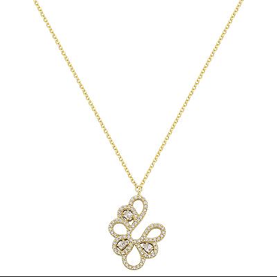 Zlatý náhrdelník 1739z