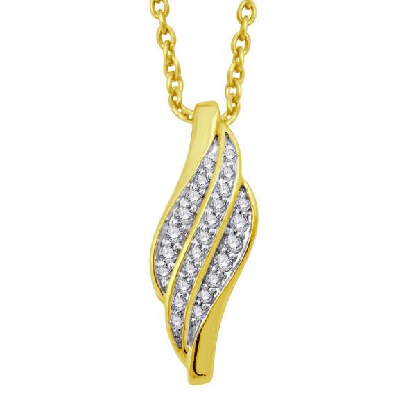 Zlatý diamantový prívesok 530-20269z