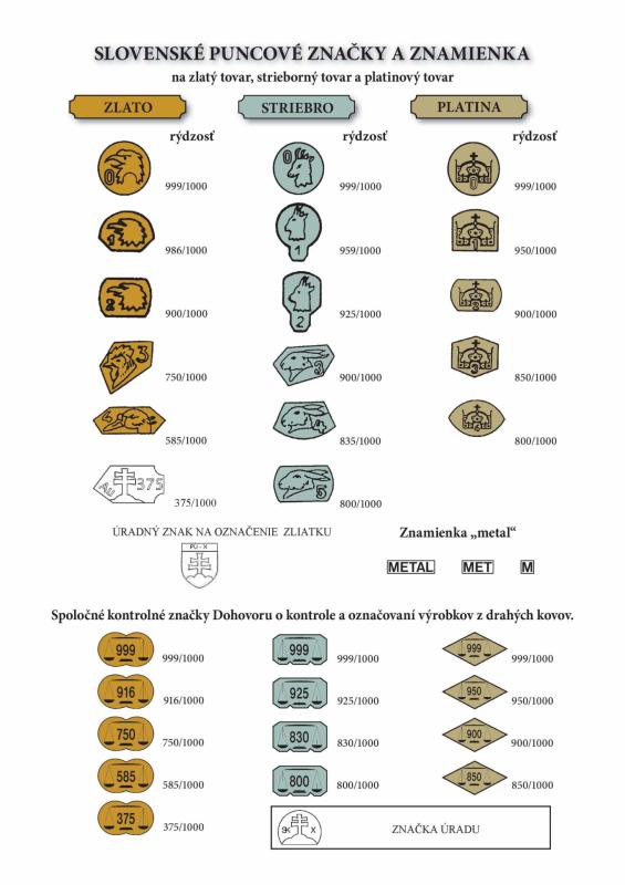 c99335f59 Zlato a puncové značky